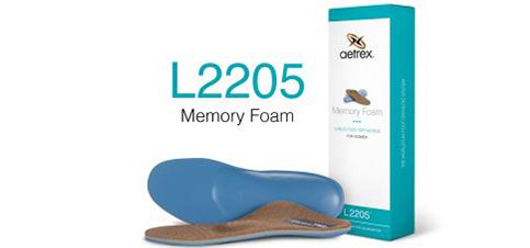 Aetrex l2205w dames voetbed