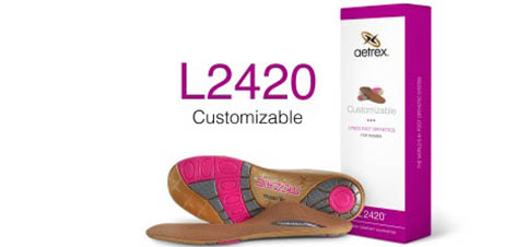 Aetrex l2420w dames voetbed